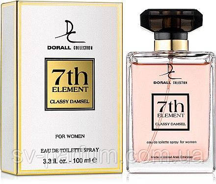Парфюмированная вода женская DC 7th Element Classy Damsel  100ml