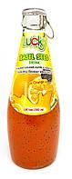 Напиток Lucky с семенами Базилика Апельсин 290мл