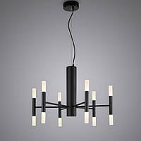 Декоративная светодиодная люстра 36Вт, LPL212-BK