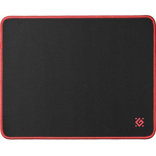 Игровой коврик Defender Black M 360x270x3 мм, ткань+резина