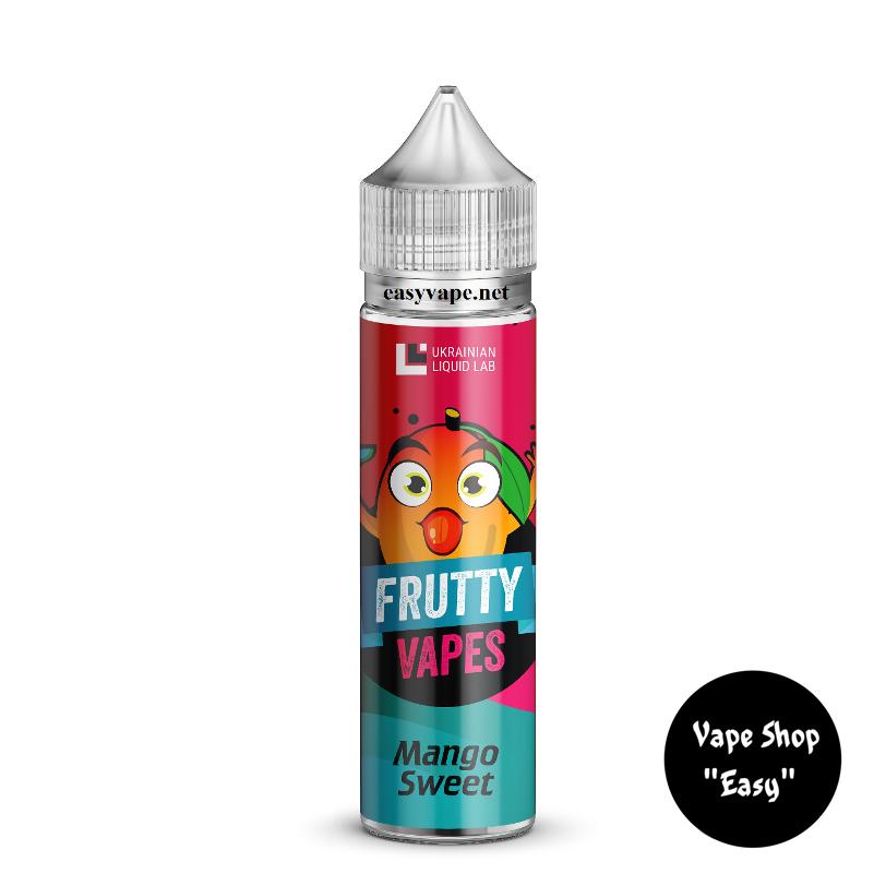 Frutty Vapes Mango Sweet 60 ml Премиум жидкость для электронных сигарет.