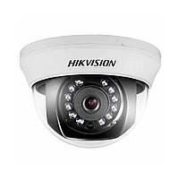 Купольная Turbo HD видеокамера Hikvision DS-2CE56D0T-IRMMF (2.8)