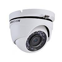 Купольная Turbo HD видеокамера Hikvision DS-2CE56D8T-ITME (2.8)