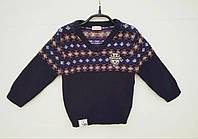 Детский свитер для мальчика BRUMS Италия 123BDHC009 тёмно-синий