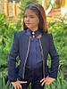 Пиджак на девочку школьный подросток  мм697