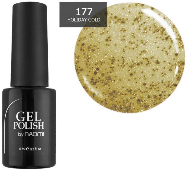 Гель-лак для ногтей Naomi №177 6 мл
