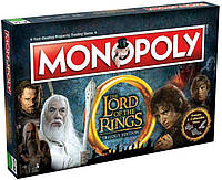 Monopoly Lord of The Rings. Монополия Властелин Колец, англ.