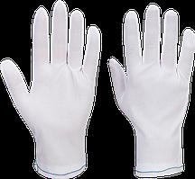 Нейлоновые смотровые перчатки A010 Белый, L