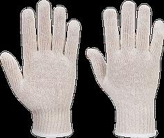 Перчатки из вязаной ниточной подкладки (300 пар) A030 Белый, L