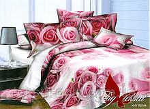1,5-спальный комплект постельного белья 3D ТМ TAG Полисатин PS-NZ2184