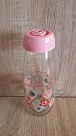 Пляшка для напоїв з трубочкою Sarina 500мл