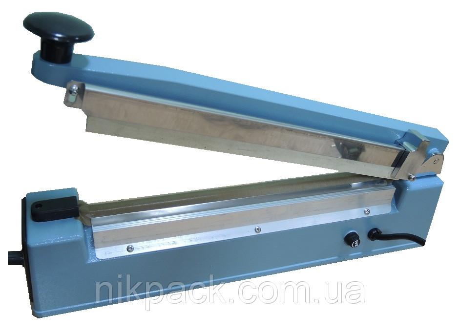 Настольный импульсный запайщик с ножом PFS-500C