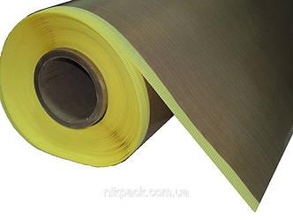 Стеклоткань с тефлоновым покрытием (тефлоновая лента) на клеевой основе 0,17 х 1000мм.