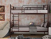 "Кровать двухъярусная ""Зоя шоколад"" 80*190"