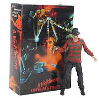 Фигурка Фредди Крюгер из фильма Кошмар на улице Вязов Freddy Krueger 18 см. В фирменной коробке., фото 1