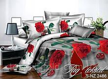 Комплект постельного белья ТМ TAG Полисатин PS-NZ 2486 Полуторный