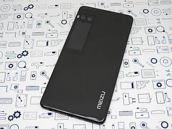 Задняя крышка Meizu Pro 7 Plus с дисплеем (M793H) черная Сервисный оригинал с разборки