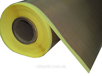 Стеклоткань с тефлоновым покрытием (тефлоновая лента) на клеевой основе 0,25 х 1000мм.
