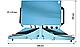 Настольный импульсный запайщик с педалью PFS-600, фото 2