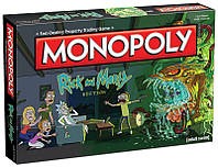 Monopoly Rick&Morty. Монополия Рик и Морти, англ.