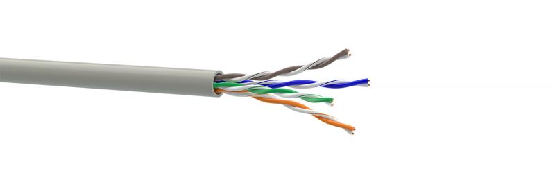 Кабель витая пара Lan-кабель КПВ-ВП (350) 4*2*0,51 (U/UTP-cat.5E) (ОдесКабель)