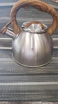 Чайник Zauberg ZB-K2.5L B 2.5 л коричневий
