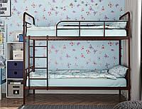 """Кровать двухъярусная """"Амели шоколад"""" 80*190, фото 1"""