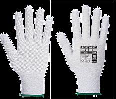 Антистатические перчатки с микроточками A196