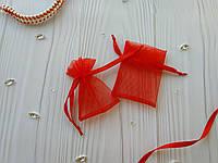 Подарочный мешочек из органзы 6 x 9 см
