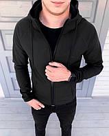 Мужская спортивная куртка осенняя в стиле Puma черная