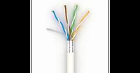 Кабель витая пара Lan-кабель КПВЭ-ВП (100) 4*2*0,48 (F/UTP-cat.5E-SL) (ОдесКабель)