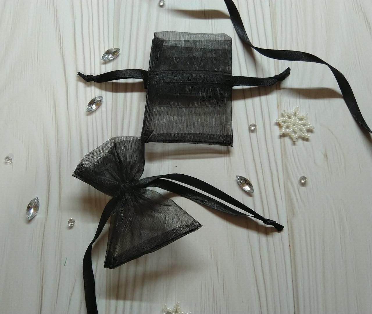 Подарочный мешочек из органзы 6 х 9 см