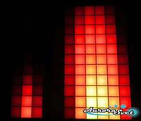 Светодиодная пиксельная панель настенная W-090-11*11-4, фото 1