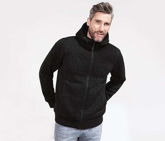 Шикарная теплющая термо толстовка (как куртка), трикотажный флис от тсм Tchibo (чибо), Германия, размер Л, фото 1