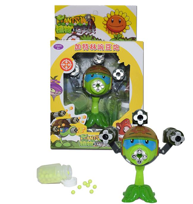 Игровой набор Растения против зомби Горохострел пулеметчик Plants vs Zombies