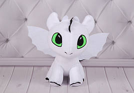 Мягкая игрушка Дракон Ночная Фурия