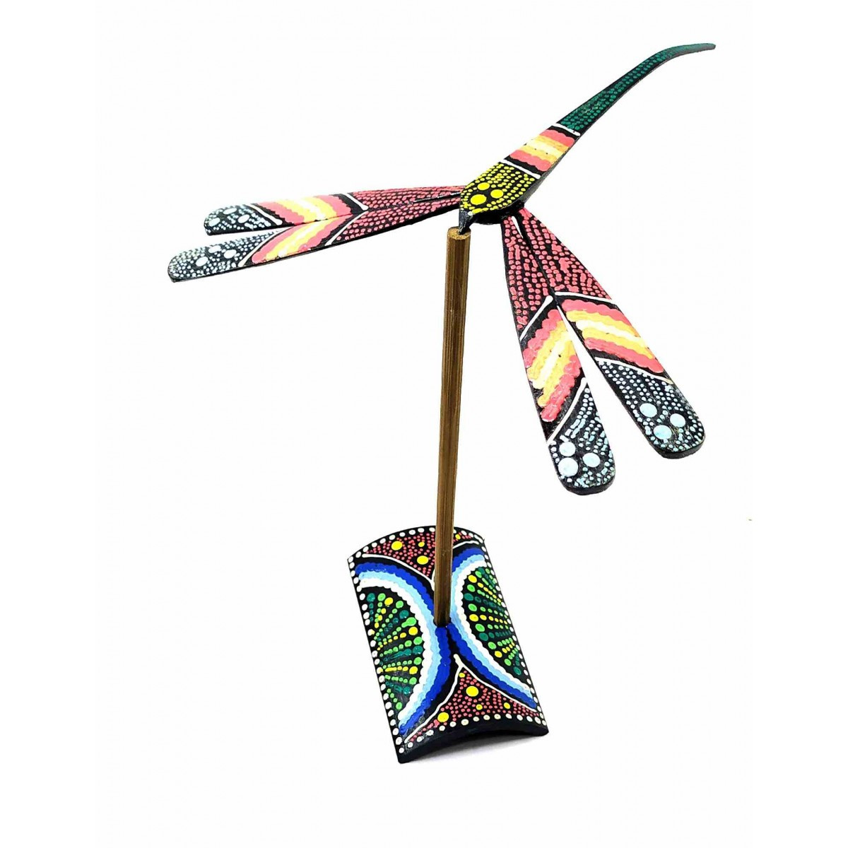 Статуэтка баланс бамбуковая Стрекоза
