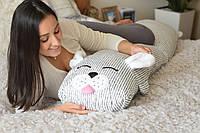 """Подушка-комфортер для беременных и кормящих мам """"Зайка"""""""