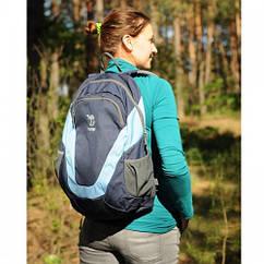 Рюкзак 22 л Tramp City синій. Рюкзак для города. Городской, спортивный рюкзак синий.