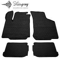 Резиновые коврики автомобильные для Volkswagen Bora 1997- Stingray  комплект черный