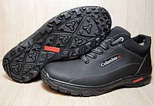 Ботинки спортивные зимние черного цвета Львовская фабрика, фото 3