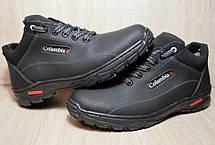 Ботинки спортивные зимние черного цвета Львовская фабрика, фото 2