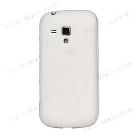 Чехол TPU на Samsung Galaxy S Duos S7562, белый