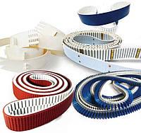 Ремни приводные зубчатые полиуретановые длиномерные (в погонных метрах);