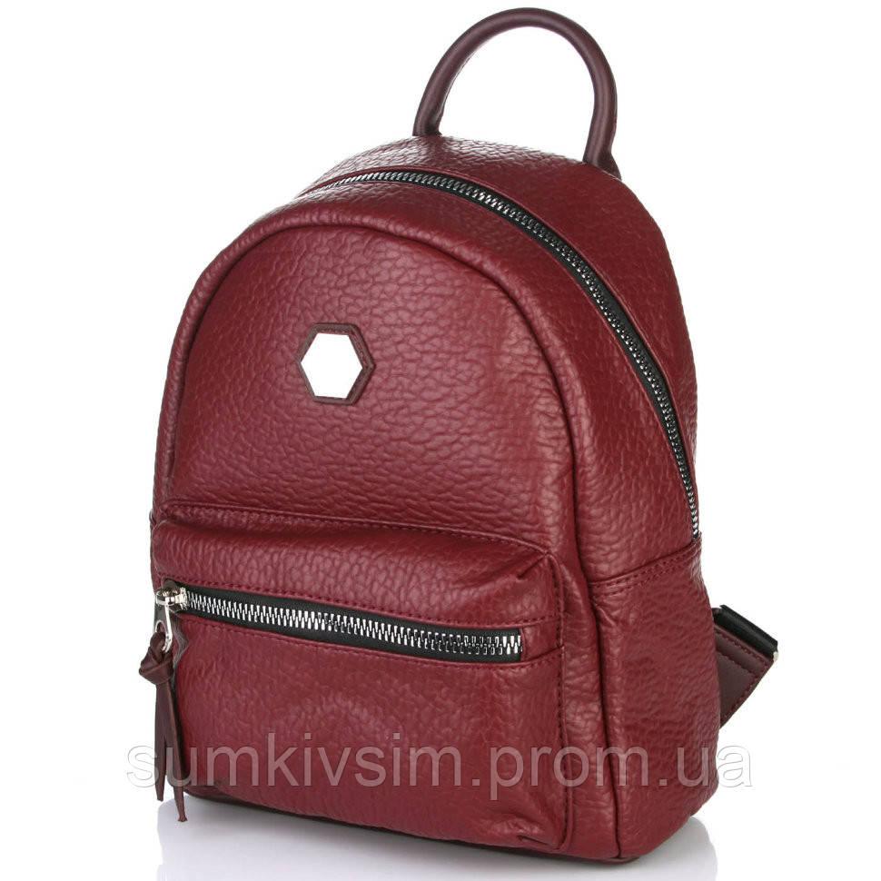 Рюкзак женский бордового цвета DAVID JONES