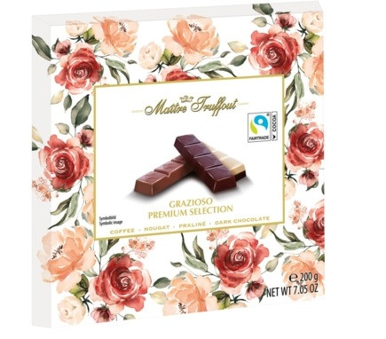 Шоколад Maitre Fruffout Grazioso Premium Selection 200 g