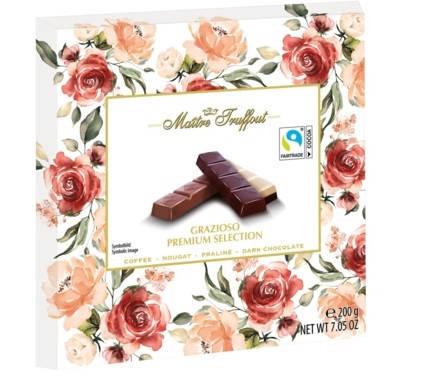 Шоколад Maitre Fruffout Grazioso Premium Selection 200 g, фото 2