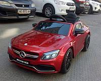 Детский электромобиль Mercedes M 4010EBLRS-3, бордо лак