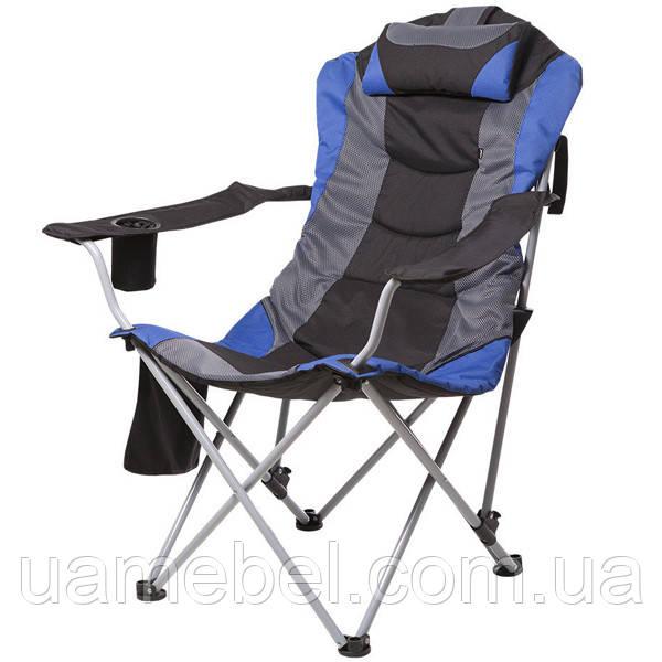 Кресло «Директор»,  Ø 19 мм (Синий) 5990
