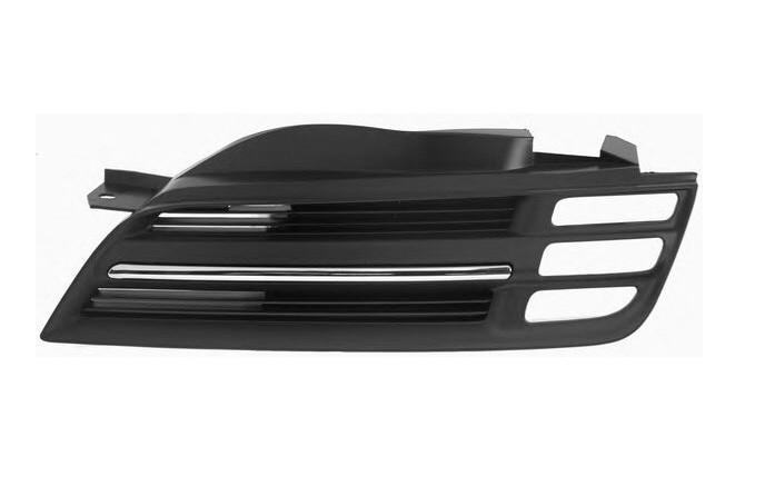 Решетка в бампер Nissan Micra K12 03-05 левая с хром молдингом 5008 991